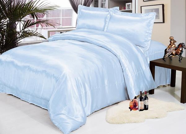 Постельное белье Silk Blue