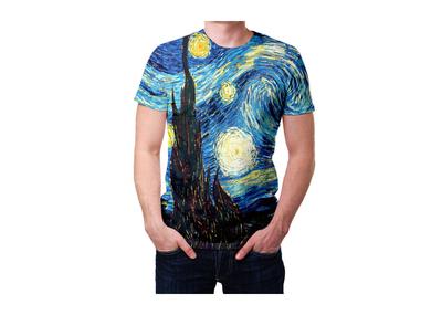 Футболка Винсент Ван Гог «Звёздная ночь»