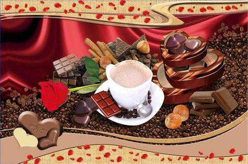 Набор салфеток с подстаканниками Tango Coffee V1