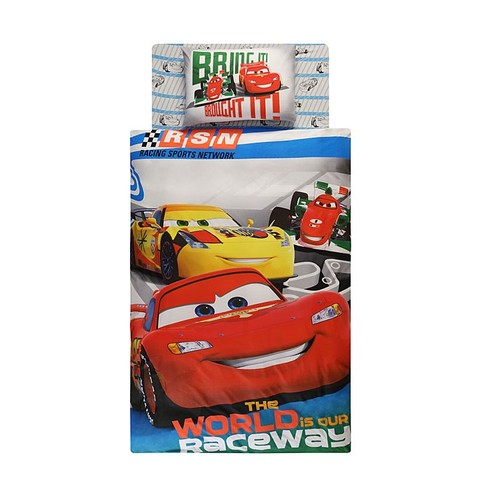 Детское постельное белье CARS RACE