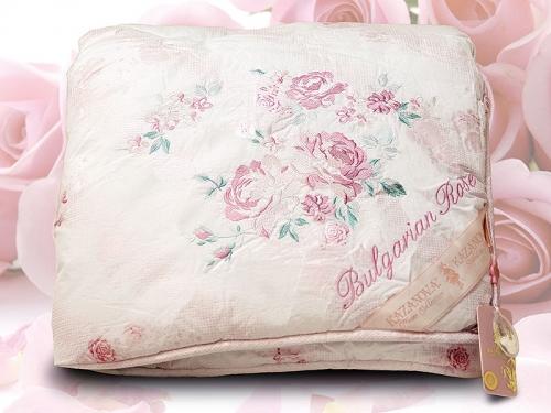 Зимнее одеяло Kazanova 155х210 Organic Fibers Bulgarian Rose