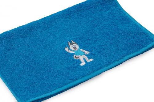Полотенце Universiade 70х140 Талисман синий
