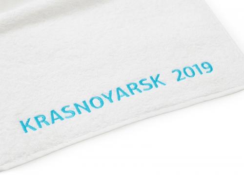 Полотенце Universiade 70х140 Logo Krasnoyarsk 2019
