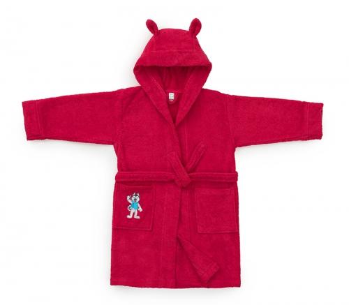 Детский халат Universiade Талисман фуксия 2-4 года