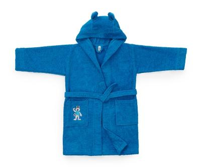 Детский халат Universiade Талисман синий 4-6 лет