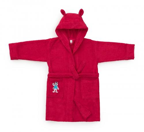 Детский халат Universiade Талисман фуксия 4-6 лет