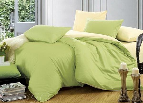 Постельное белье Duo Yellow/Green