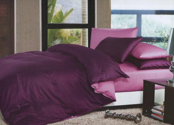 Постельное белье Duo Purple/Pink