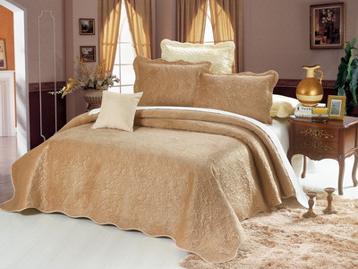Покрывало с наволочками Casablanca светло-коричневый cas2426-7