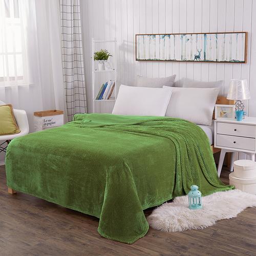 Плед Tango Norte Фланель зеленый