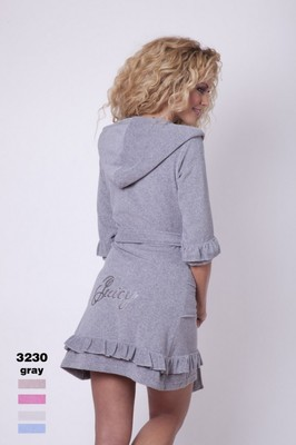 Женский халат Virginia Secret Grey V1