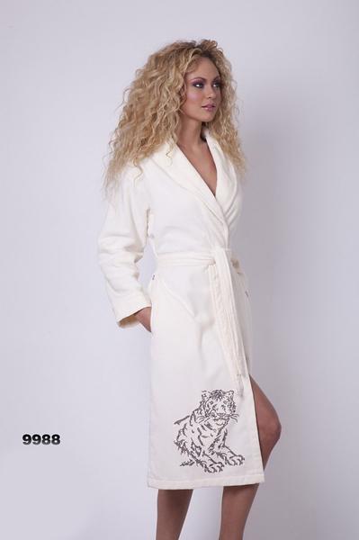 Женский халат Virginia Secret White V6