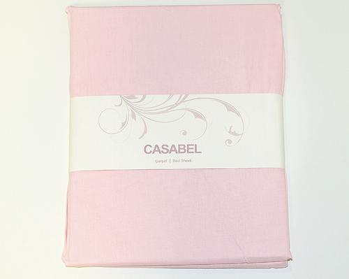Простыня CASABEL 160х240 Pink