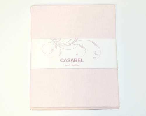 Простыня CASABEL 220х240 Light Pink