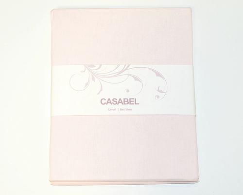 Простыня CASABEL 160х240 Light Pink