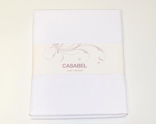 Простыня CASABEL 160х240 White