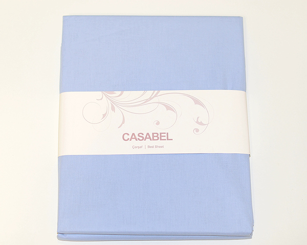 Простыня CASABEL 160х240 Blue