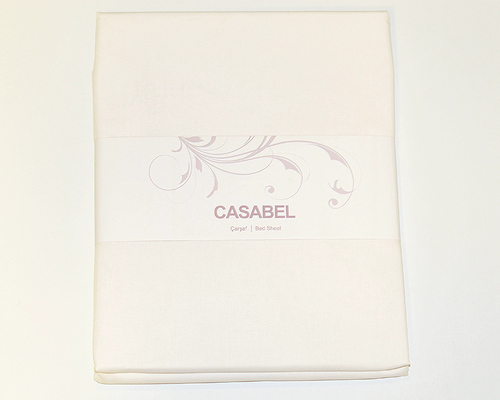 Простыня CASABEL 160х240 Cream