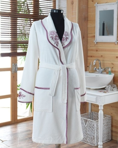 Женский халат VS White