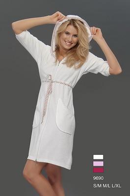 Женский халат Virginia Secret White V7