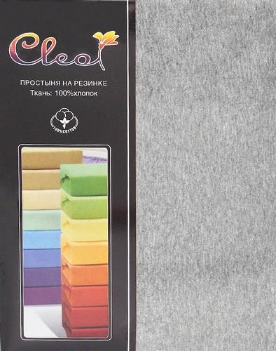 Простыня на резинке Cleo Melange 140х200 см