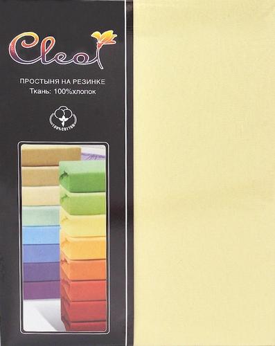 Простыня на резинке Cleo Yellow 90х200 см