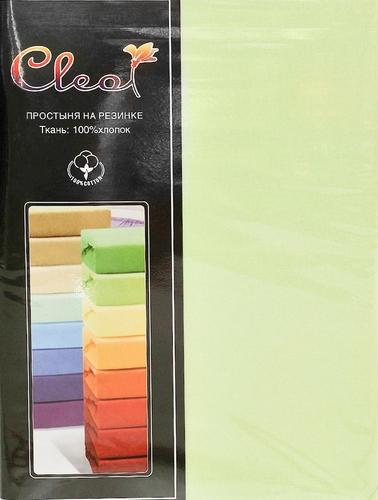 Простыня на резинке Cleo Lime 90х200 см