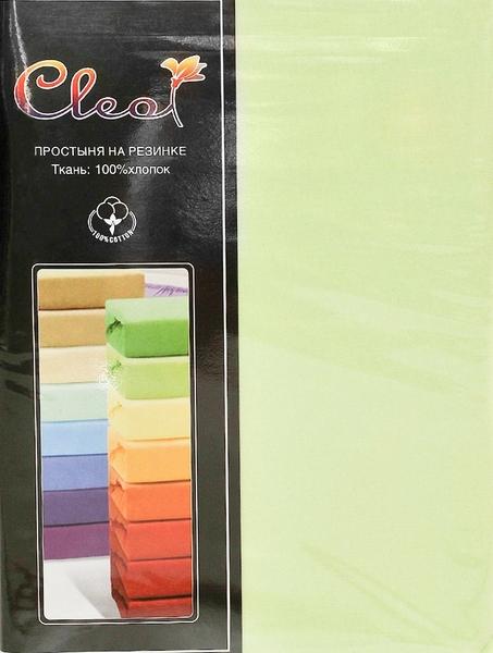 Простыня на резинке Cleo Lime 140х200 см