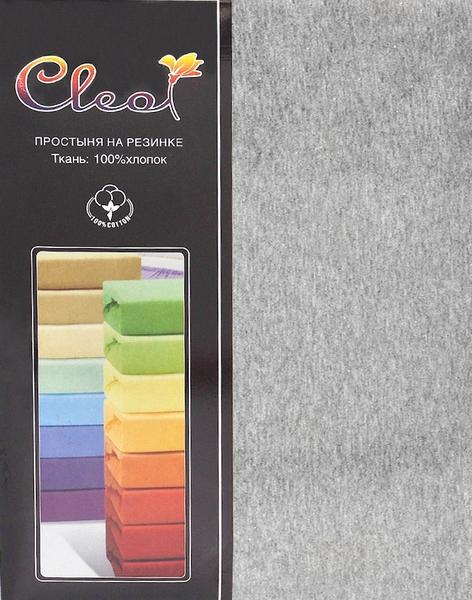 Простыня на резинке Cleo Melange 90х200 см