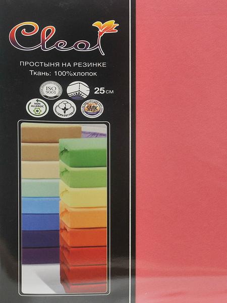 Простыня на резинке Cleo Coral 200х200 см
