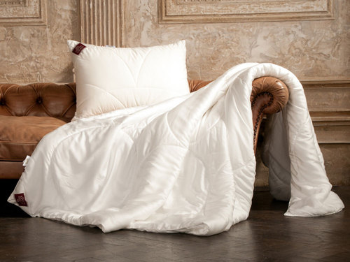 Легкое одеяло 200×220 см Double Tencel Grass