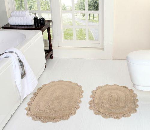 Комплект ковриков Kazanova Дамиана (бежевый)