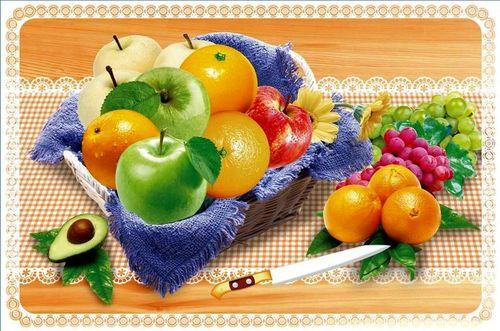Набор салфеток с подстаканниками Tango Fruits V10