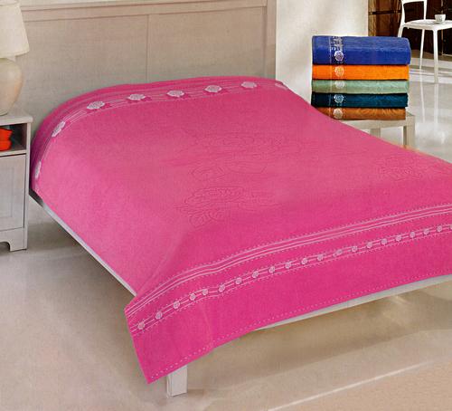 Простыня Gulcan Rose Cotton 190х220 см Pink