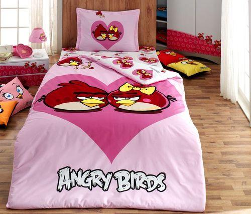 Детское постельное белье Angry birds 1010-04