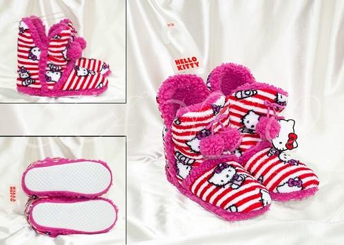 Сапожки домашние Hello Kitty 7026-06