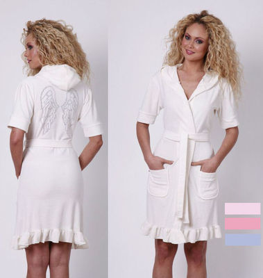 Женский халат Verginia Secret White V3