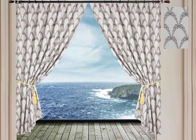 Жаккардовые шторы SL V15