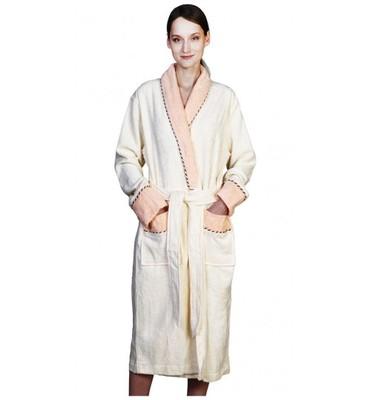 Банный халат SL Бамбук XХL (54) кремовый