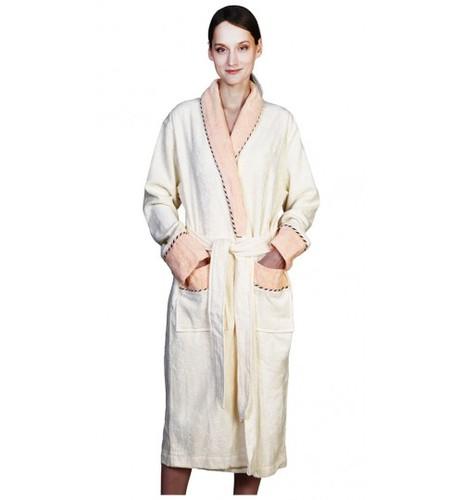 Банный халат SL Бамбук L (50) кремовый