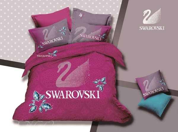 Постельное белье Swarovski bb02-14
