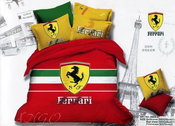 Постельное белье Ferrari Red
