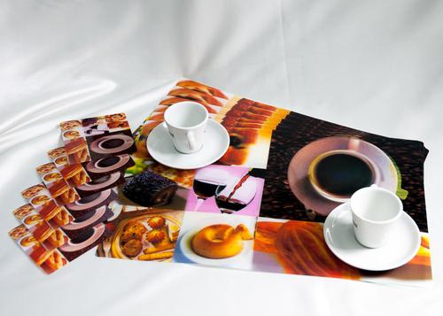 Набор салфеток с подстаканниками Tango Coffee V5