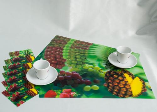 Набор салфеток с подстаканниками Tango Fruits V8