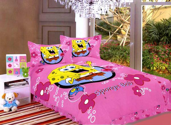 Детское постельное белье SpongeBob СВ10-03