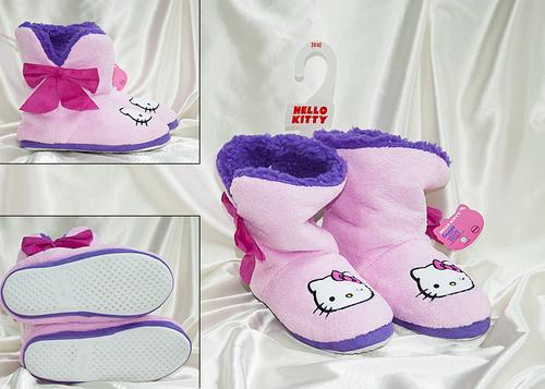Сапожки домашние Hello Kitty 7026-04