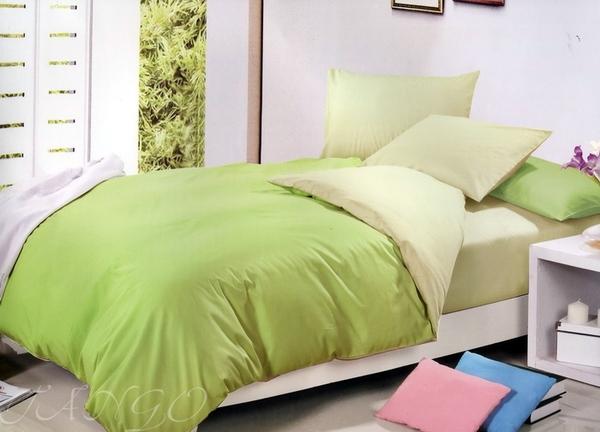 Постельное белье Duo Lime/Green