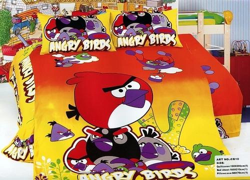 Детское постельное белье Angry Birds СВ10-25