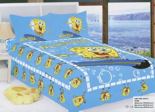 Детское постельное белье SpongeBob СВ10-06