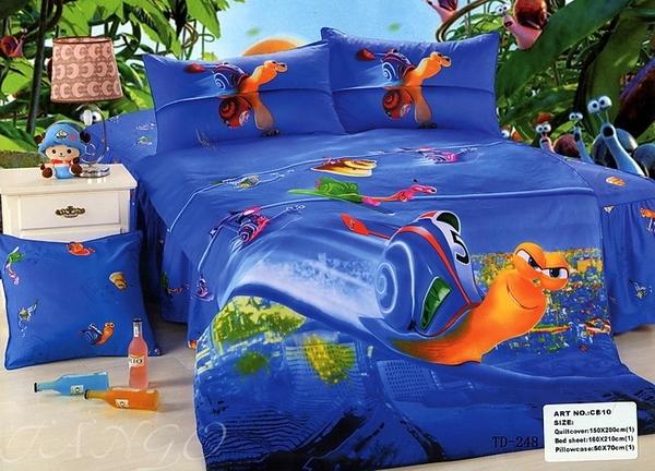 """Детское постельное белье """"Boy&Girl"""" Snails 2"""